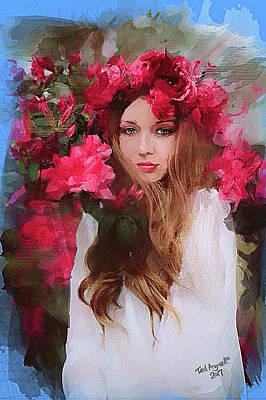 Digital Art - Rose Of Odessa by Ted Azriel