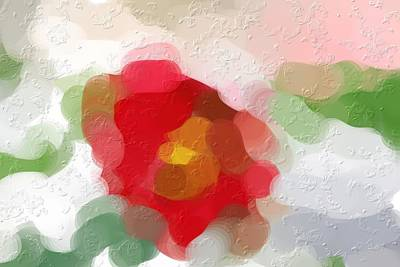 Designers Choice Digital Art - Rose Of Sharon Abstract by Don Wright