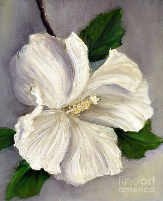 Rose Of Sharon Painting - Rose Of Sharon Diana by Randy Burns