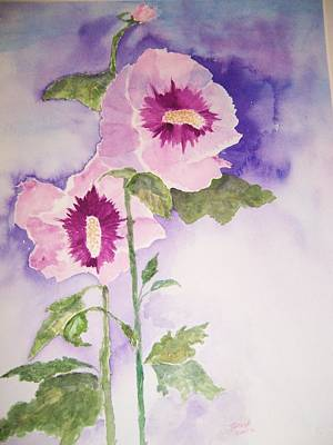 Rose Of Sharon Painting - Rose Of Sharon by Jacqueline Coote