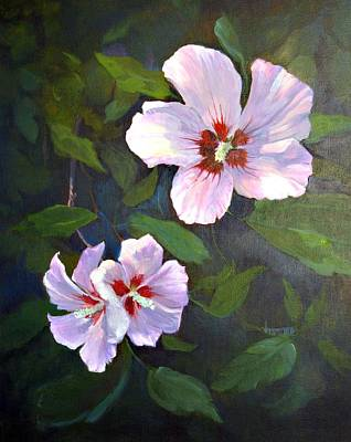 Rose Of Sharon Print by Jimmie Trotter
