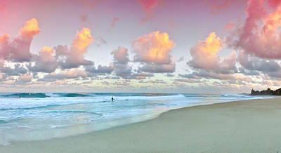 Pastel Sky Photograph - Rose Pastels by Sean Davey