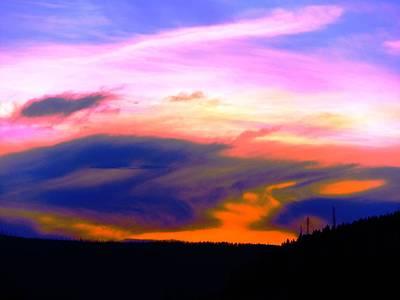 Photograph - Rose Pedal Sunset by Adam Cornelison