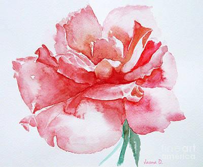 Rose Pink Art Print