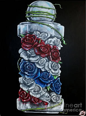 Andis Painting - Rose Pole by The Styles Gallery