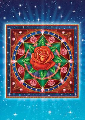 Mixed Media - Rose - Pure Love by Anne Wertheim