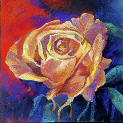 Rose Art Print by Rae Andrews