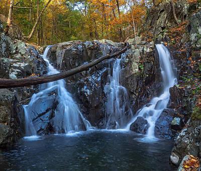 Wall Art - Photograph - Rose River Falls Shenandoah National Park by Martin Belan