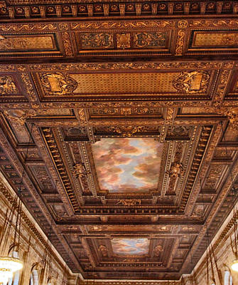 Photograph - Rose Room Ceiling by Jessica Jenney