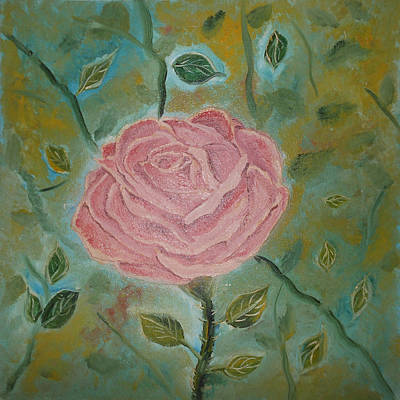 Marcelo Painting - Rose Rose by Marcelo Carlos