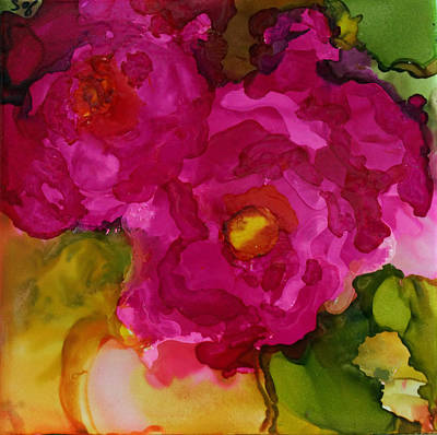 Painting - Rose To The Occation by Joanne Smoley