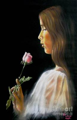 Rose Art Print by Tony Calleja