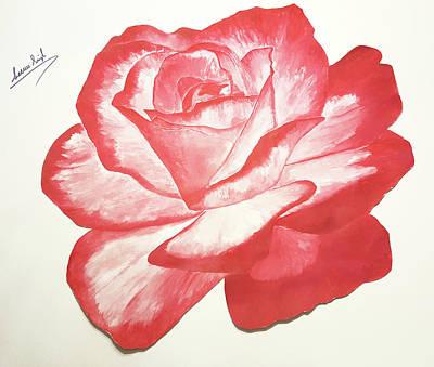 Painting - Rose Two by Seenu Singh