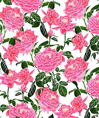 Digital Art - Rose V2 by Uma Gokhale