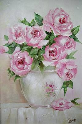 Rose Vase Art Print