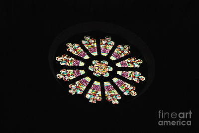 Photograph - Rose Window by Jacqueline M Lewis
