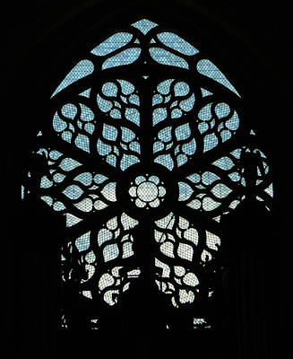 Glass Art - Rose Window by Photographed by Vassil