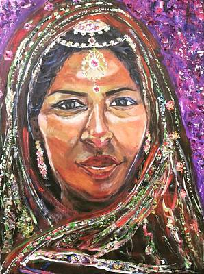 Painting - Roseanne Kala - True Colors by Belinda Low