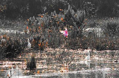 Roseate Spoonbill Select Color Art Print by Ken Figurski