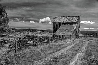 Photograph - Roseberry Farm by Richard J Cassato
