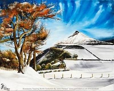 Painting - Roseberry topping by John Palliser