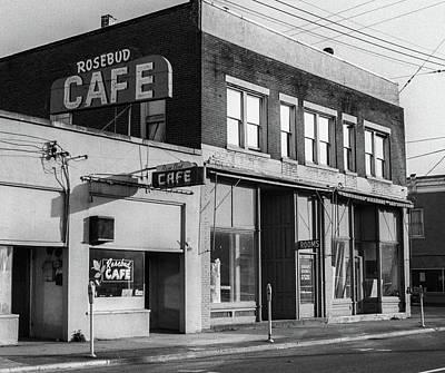 Photograph - Rosebud Cafe, Roseburg, Oregon by Frank DiMarco