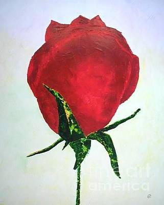 Painting - Rosebud Of Beaverlac by Lynda Cookson