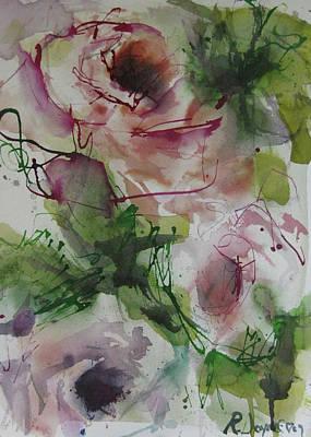 Painting - Rosebuds by Robert Joyner