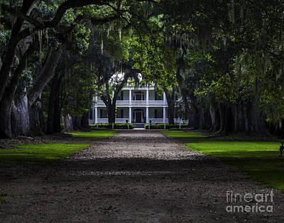 Photograph - Rosedown Plantation Main House by Ken Frischkorn