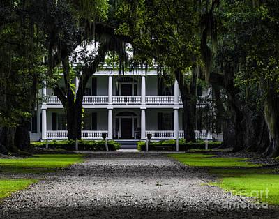 Photograph - Rosedown Plantation Main House Two by Ken Frischkorn
