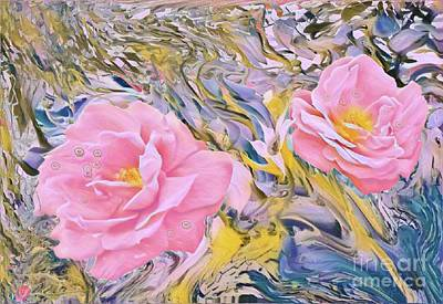 Digital Art - Rosedream by Susanne Baumann