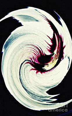 Digital Art - Rosemallow Twist by Sarah Loft