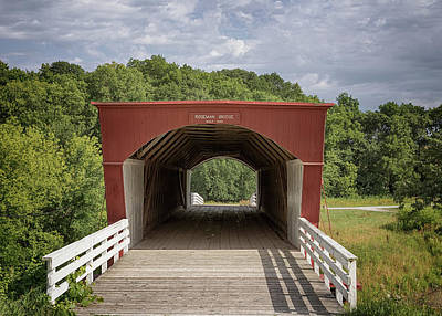 Photograph - Roseman Covered Bridge 3 by Susan Rissi Tregoning