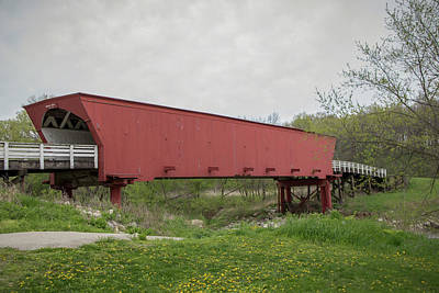 Photograph - Roseman Covered Bridge 2 by Teresa Wilson