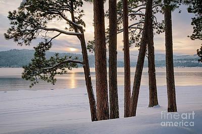 Nic Photograph - Rosenberry Sunset by Idaho Scenic Images Linda Lantzy