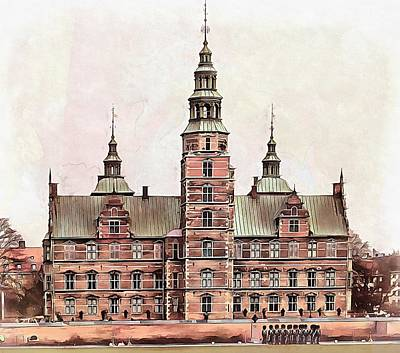 Photograph - Rosenborg Castle Copenhagen by Dorothy Berry-Lound