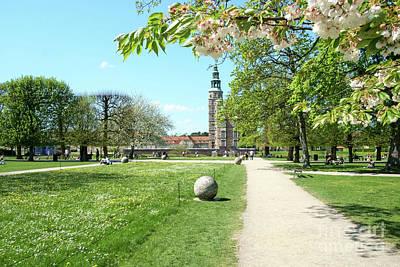 Rosenborg Photograph - Rosenborg Garden With Castle by Jannis Werner