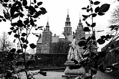 Photograph - Rosenborg's Rose Garden by Alexandra-Emily Kokova