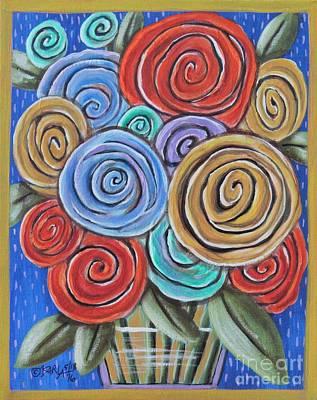 Roses 2 Original by Karla Gerard