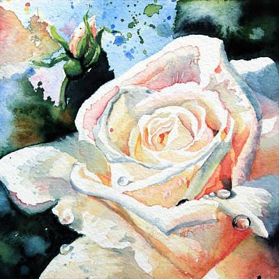 Roses 6 Art Print by Hanne Lore Koehler