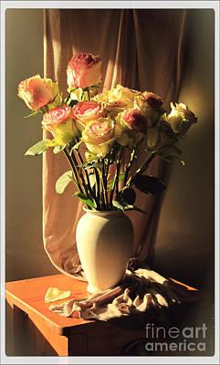 Photograph - Roses by Binka Kirova