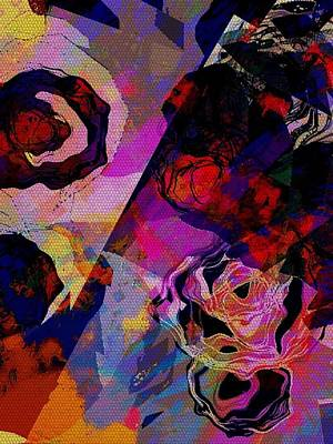 Digital Art - Roses by Cooky Goldblatt