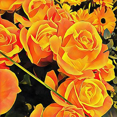 Photograph - Roses For Companionship by Dorothy Berry-Lound