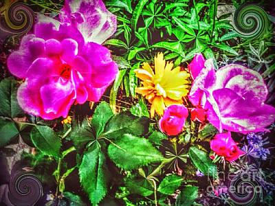 Roses For    Fairies             Art Print