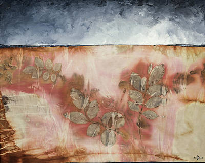 Mixed Media - Roses For Hazel II by Carolyn Doe