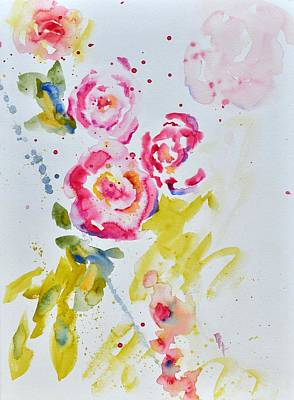 Painting - Roses For Madame by Beverley Harper Tinsley
