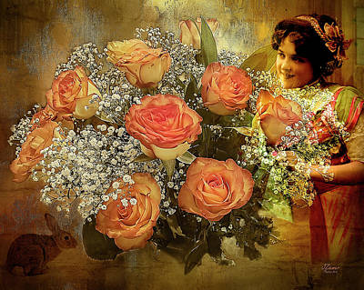 Photograph - Roses From Judy by Jim Ziemer