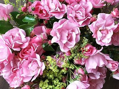 Roses From The Garden Art Print
