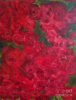Painting - Roses Garden by Michelle Welles