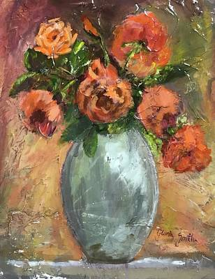 Painting - Roses by Gloria Smith